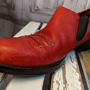Simple Shoes - Simple 7.5 red comfort mules clogs womens shoes he